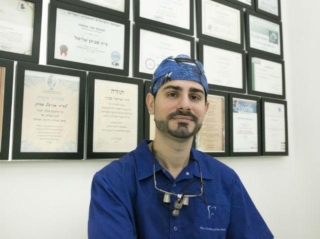 אריאל סביון - רופא שיניים בראשון לציון
